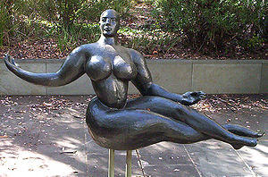 Gaston Lachaise - Floating Figure (1927, bronze), no. 5 from an edition of 7, Purchased 1978 by the National Gallery of Australia
