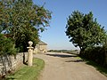 Gatepost to farm yard. - geograph.org.uk - 534171.jpg