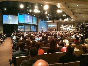 Gateway Church (Texas) - Worship in 2010, old Southlake Campus