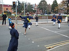 Gatka demonstration in Bedford, England (2007)