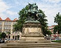 Gdańsk , Poland -The King Jan III Sobieski Monument - panoramio.jpg