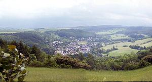 Geising - Image: Geising Panorama Müglitztal