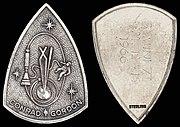 Gemini 11 Flown Sterling Silver Fliteline Medallion