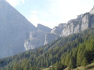 Gemmi Pass - Gemmi Pass as seen from Leukerbad