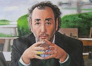Genco Gulan - Self-portrait with 4 eyes. Oil on Canvas. Pekin Collection.