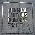 General Motors Building - 767 Fifth Avenue - New York - Name Plate.jpg