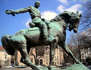 General Philip Sheridan - Image: General Philip Sheridan Memorial Rienzi
