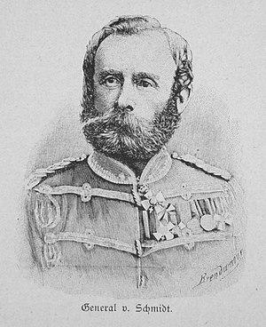 Schwedt - General von Schmidt