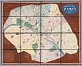 Georg Bauerkeller, Nouveau Plan de Paris en relief, 1839 - David Rumsey.jpg