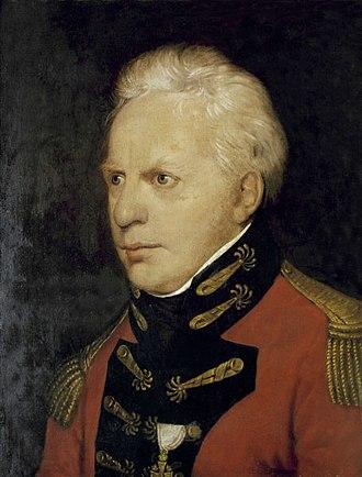 Georg Nikolaus von Nissen - Georg Nicolaus Nissen. Painting by Ferdinand Jagemann, 1809