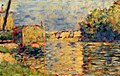 George Seurat - River's Edge PC 77.jpg