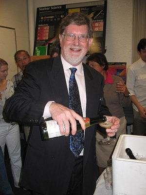 George Smoot - Smoot celebrating his Nobel Prize at Lawrence Berkeley National Laboratory, 3 October 2006