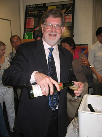 George Smoot - Smoot celebrating his Nobel Prize at Lawrence Berkeley National Laboratory, 3 October 2006