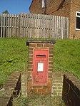 George VI postbox in Gamble Lane, Farnley (geograph 5162121).jpg