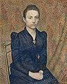 Georges Lemmen - Portrait of the Artist's Sister - 1961.42 - Art Institute of Chicago.jpg