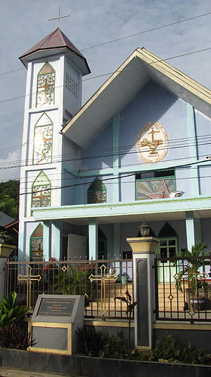 "Labuan Bajo - ""Gereja Masehi Injili"" Dutch reformed church"