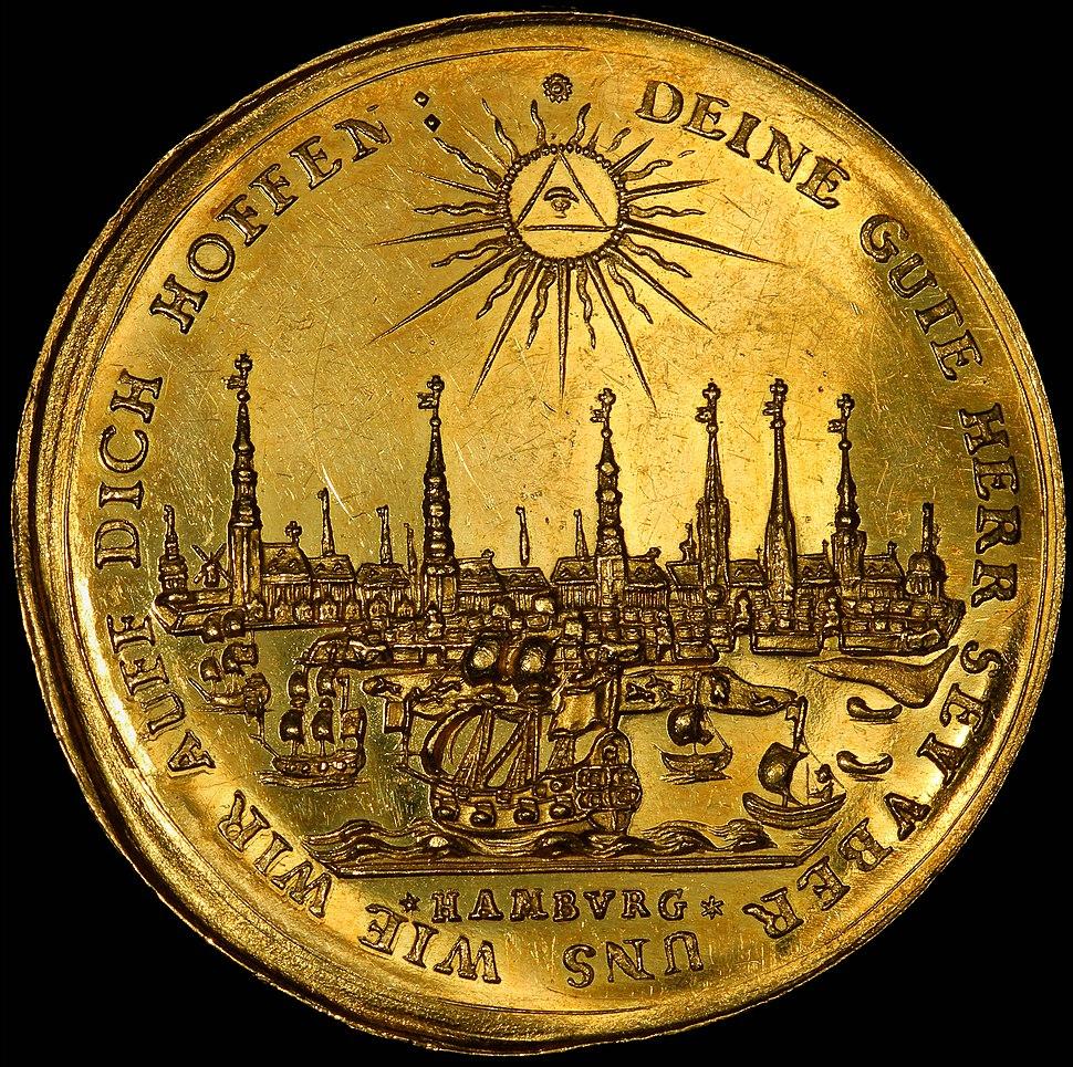 Germany-Hamburg-1679-Half Bankportugalöser-5 ducats (cropped)