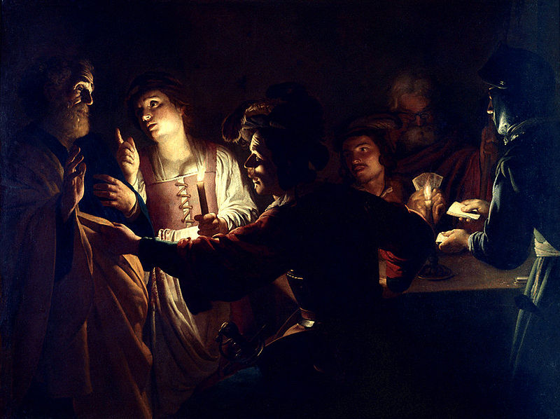File:Gerrit van Honthorst - De Verloochening van Sint Petrus.jpg
