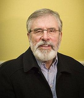 Gerry Adams Irish Republican politician, leader of Sinn Fein 1983-2018