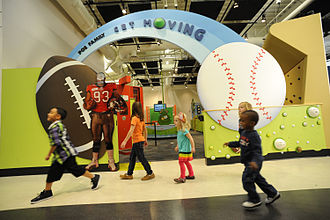 Glazer Children's Museum - Image: Get Moving at the Glazer Children's Museum