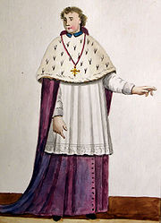 Ghent; Bishop in choir dress - Summer