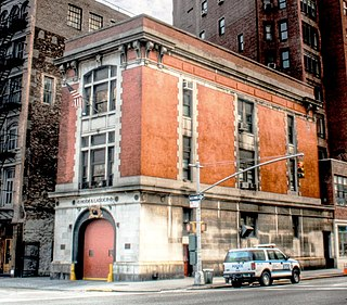 Firehouse, Hook & Ladder Company 8 Ghostbuster Inc. Headquarters