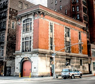 Firehouse, Hook & Ladder Company 8 - Image: Ghostbusters Firehouse crop