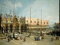 Giovanni Antonio Canal - Piazza San Marco - National Gallery of Art Washington.jpg