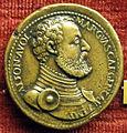 Giovanni dal calvino, medaglia di alfonso II d'avalos, marchese di vasto e guastalla.JPG