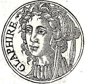 """Glaphyra - Glaphyra from """"Promptuarii Iconum Insigniorum """""""