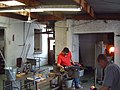 Glass-blowing at Jerpoint Glass - geograph.org.uk - 55244.jpg