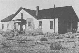 Gleeson, Arizona - Image: Gleeson Hospital in 1925