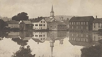 Harrisville, New Hampshire - Image: Glimpse of Harrisville, NH
