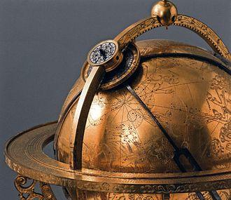 Mathematisch-Physikalischer Salon - Celestial globe from 1586