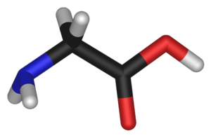 Glycine (data page) - Chemical structure of the amino acid Glycine