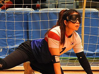 South Korea womens national goalball team South Korean national team, for the Paralympic sport of goalball