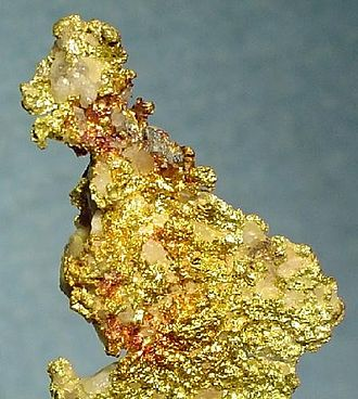 Placerville, California - Gold specimen from Placerville