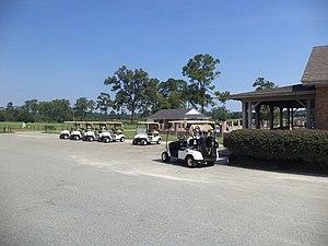 Golf carts at Circlestone Country Club.JPG