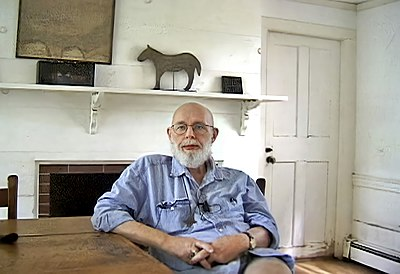 Picture of an author: Edward Gorey