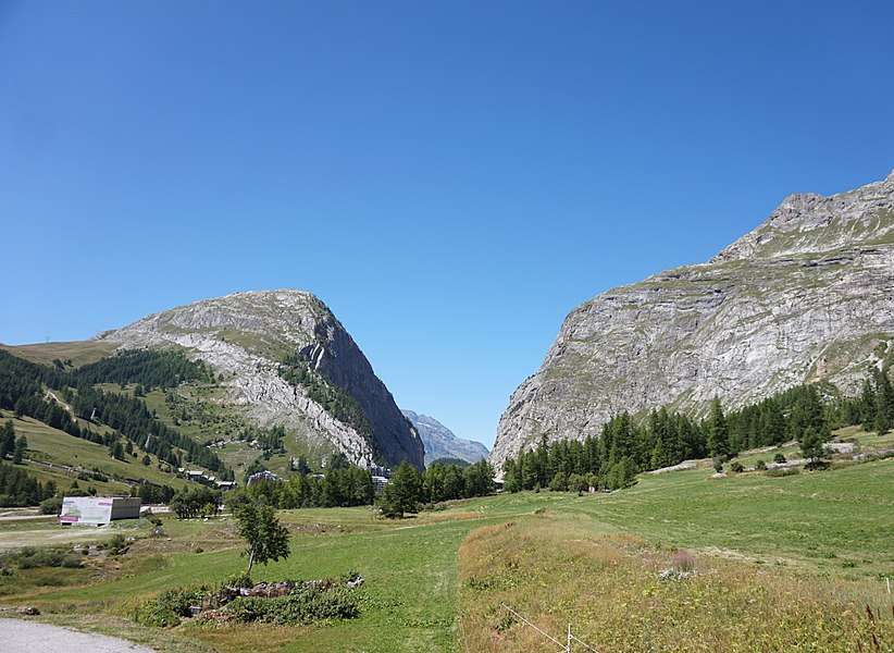Gorge near Val-d'Isère.