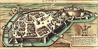 Gotha - Gotha in 1572