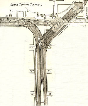 Grand Central–42nd Street (New York City Subway) - 1918 plan