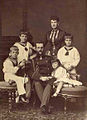 Grand Duke Vladimir Alexandrovich with his wife and four children..jpg