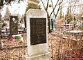 Grave of Olha Hasyn, Brovary.jpg