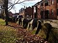 Gravestones beside Exe Street - geograph.org.uk - 1059147.jpg