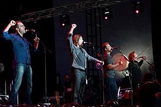 Great Big Sea - Great Big Sea at Byron Bay Bluesfest in Australia, in April 2012.