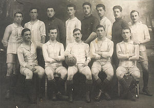 Greece national football team - The national team for the Inter-Allied Games in Paris, 1919.