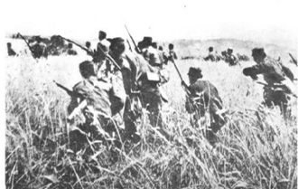 Battle of Kilkis–Lachanas - Greek soldiers during the battle