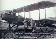 Greek aviators in Constaninople 1918