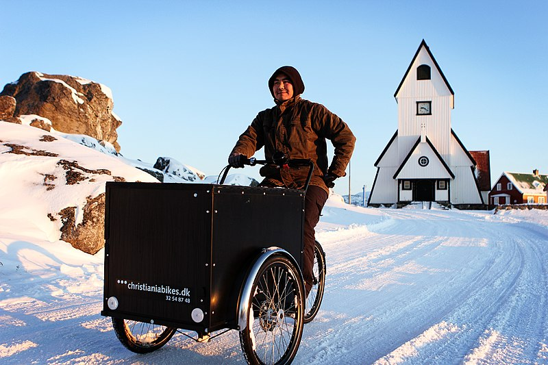 Fichier:Greenland Bicycle Culture (6475854783).jpg